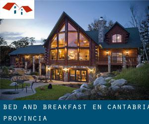 Bed and Breakfast en Cantabria (Provincia)
